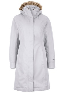 Women's Chelsea Coat, Platinum, medium