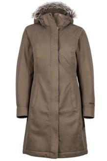 Wm's Chelsea Coat, Deep Olive, medium