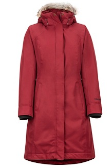 Women's Chelsea Coat, Claret, medium