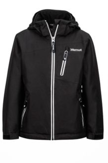 Girl's Free Skier Jacket, Black, medium
