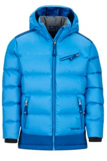 Girl's Sling Shot Jacket, Lakeside/Dark Cerulean, medium