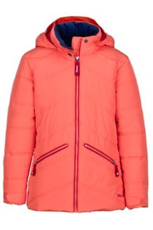 Girl's Val D'Sere Jacket, Living Coral, medium