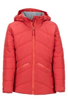 Girl's Val D'Sere Jacket, Desert Red, medium