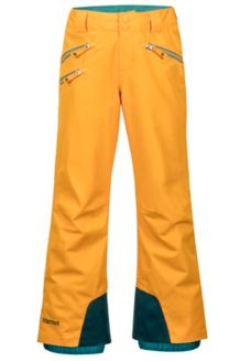 Girl's Slopestar Pant, Golden Sun, medium