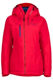 Wm's Dropway Jacket, Tomato, medium