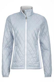 Wm's Kitzbuhel Jacket, Silver/White, medium