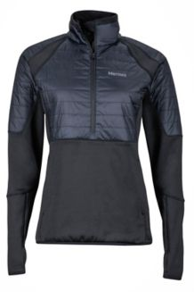 Wm's Furiosa 1/2 Zip, Black, medium