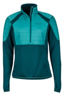 Wm's Furiosa 1/2 Zip, Deep Teal/Patina Green, medium