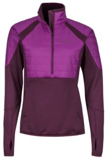 Wm's Furiosa 1/2 Zip, Dark Purple/Grape, medium