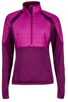 Wm's Furiosa 1/2 Zip, Deep Plum/Purple Orchid, medium