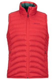 Wm's Aruna Vest, Scarlet Red, medium