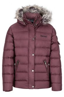 Girl's Hailey Jacket, Burgundy, medium