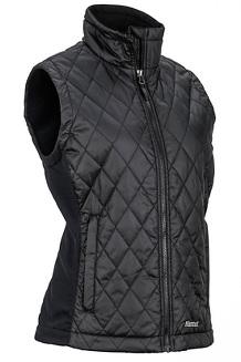 Women's Kitzbuhel Vest, Black, medium