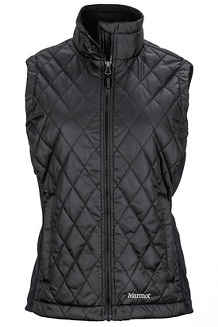 Women's Kitzbuhel Vest, Black, medium