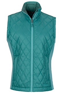 Wm's Kitzbuhel Vest, Patina Green/Meadowbrook, medium