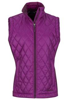 Wm's Kitzbuhel Vest, Grape/Dark Purple, medium
