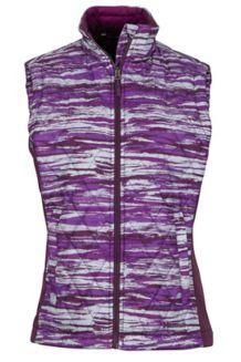 Wm's Kitzbuhel Vest, Grape Brush, medium