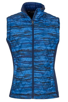 Women's Kitzbuhel Vest, Arctic Navy Brush, medium