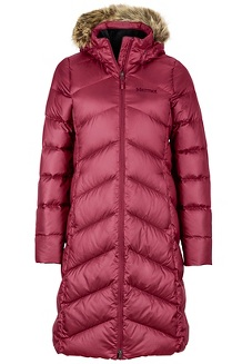 Women's Montreaux Coat, Berry Wine, medium