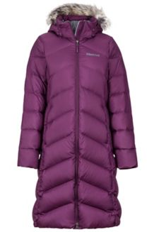 Women's Montreaux Coat, Dark Purple, medium