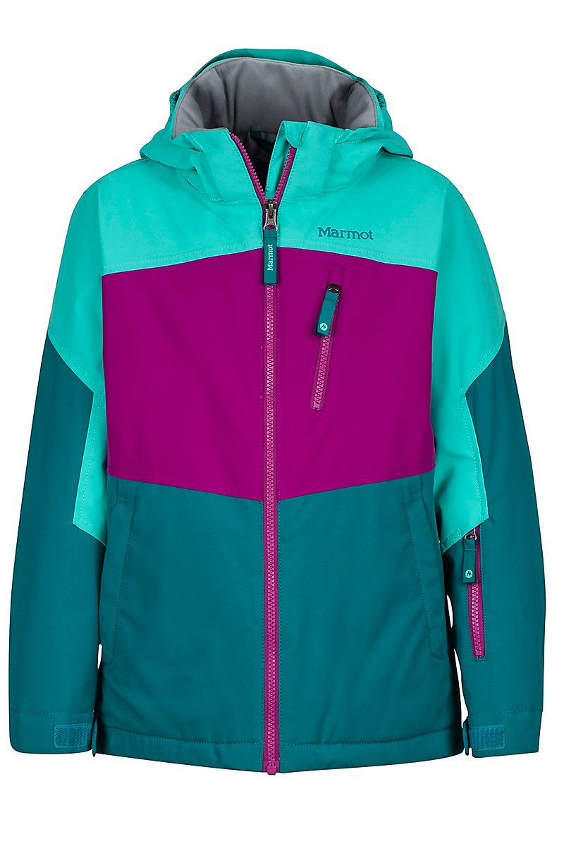 Girl's Elise Jacket, Deep Lake/Waterfall, large
