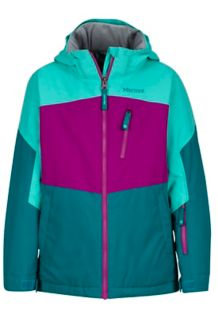 Girl's Elise Jacket, Deep Lake/Waterfall, medium