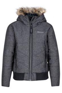 Girl's Williamsburg Jacket, Black, medium