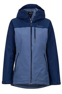 Women's Solaris Jacket, Storm/Arctic Navy, medium