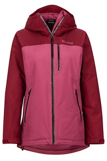 Women's Solaris Jacket, Dry Rose/Claret, medium