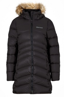 Women's Montreal Coat, Black, medium