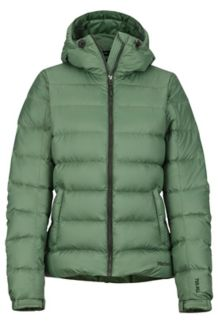 Wm's Guides Down Hoody, Vine Green, medium
