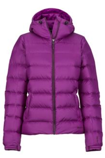 Wm's Guides Down Hoody, Grape, medium