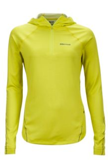 Wm's Indio 1/2 Zip, Sunny Lime, medium
