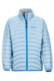 Girl's Aruna Jacket, Iceberg, medium
