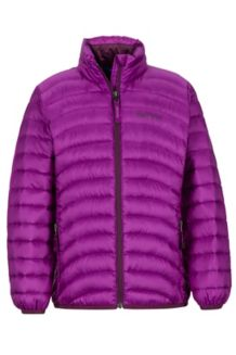 Girl's Aruna Jacket, Grape, medium