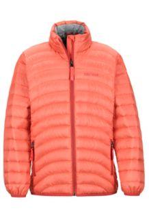 Girl's Aruna Jacket, Living Coral, medium