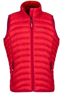 Girl's Aruna Vest, Tomato, medium