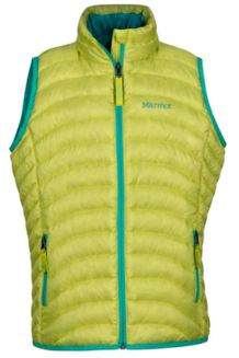 Girl's Aruna Vest, Sprig, medium