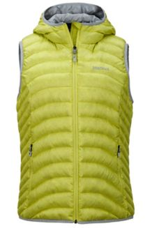 Wm's Bronco Hooded Vest, Sprig, medium