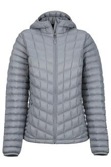 Wm's Marmot Featherless Hoody, Grey Storm, medium
