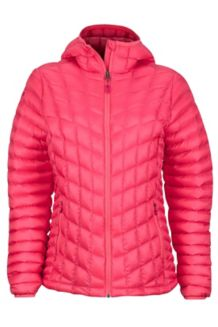 Wm's Marmot Featherless Hoody, Hibiscus, medium