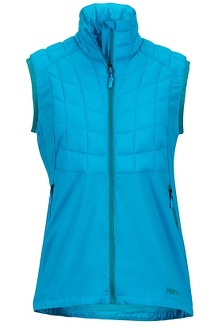 Wm's Featherless Trail Vest, Oceanic, medium