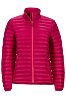 Wm's Solus Featherless Jacket, Sangria, medium
