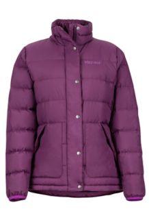 Women's Warm II Jacket, Dark Purple, medium