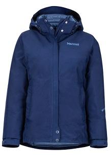 Women's Synergy Featherless Jacket, Arctic Navy, medium