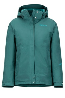 Women's Synergy Featherless Jacket, Mallard Green, medium