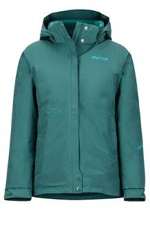 Women's Synergy Featherless Jacket, Mallard Green, medium