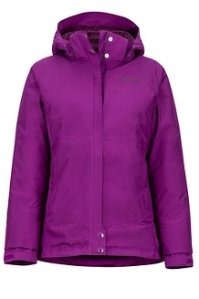 Women's Synergy Featherless Jacket, Grape, medium