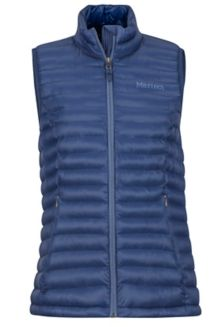 Women's Solus Featherless Vest, Arctic Navy, medium