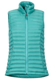 Women's Solus Featherless Vest, Patina Green, medium